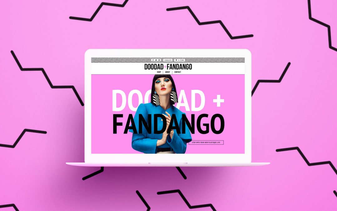 Doodad and Fandango website